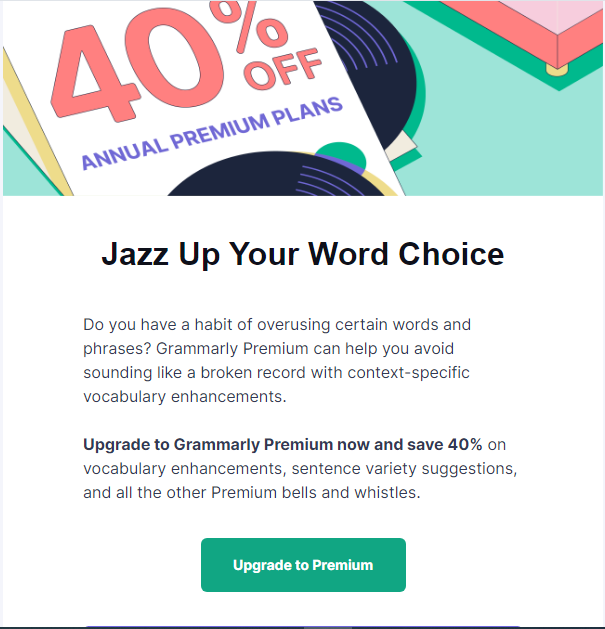 Grammarly Email Reminders