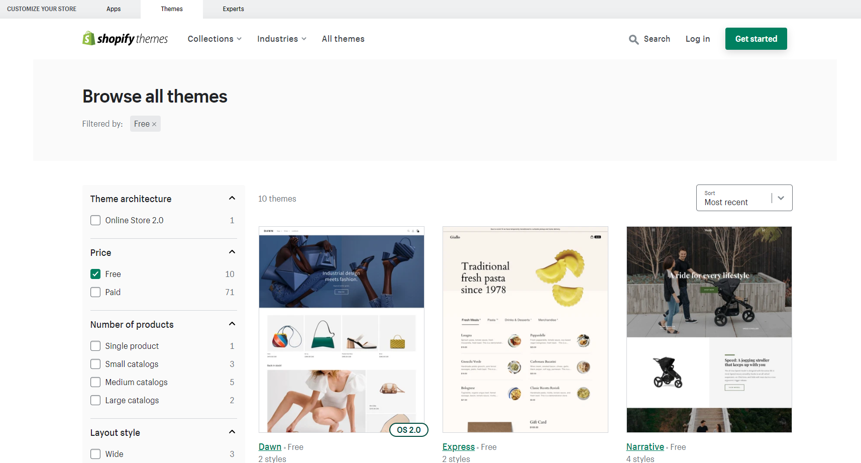 Free vs. Paid Shopify Themes 2021 - Which is Better?